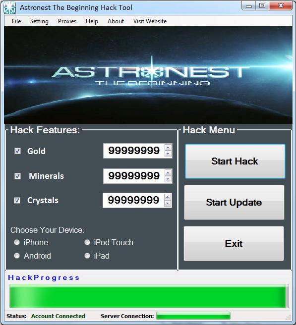 Astronest The Beginning Hack Tool