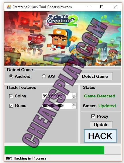 Createrria 2 Hack Tool