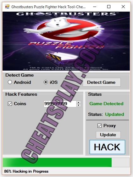 Ghostbusters Puzzle Fighter Hack Tool