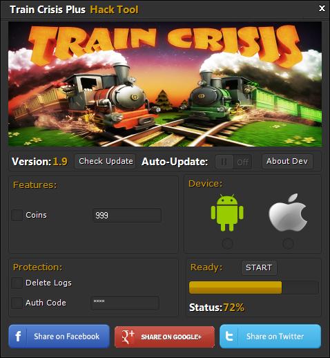 Train Crisis Plus Hack Tool