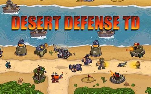 Desert Defense TD Hack Gold