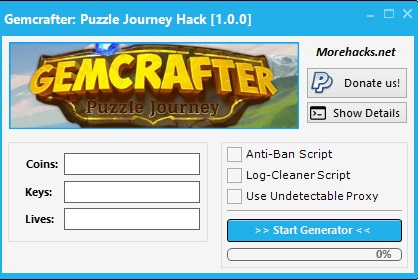 Gemcrafter Puzzle Journey Hack Tool