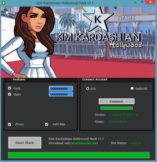 Kim Kardashian Hollywood Hack Tool