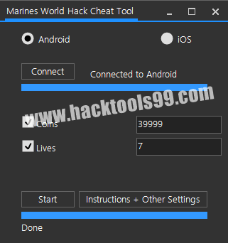 Marines World Cheat Tool