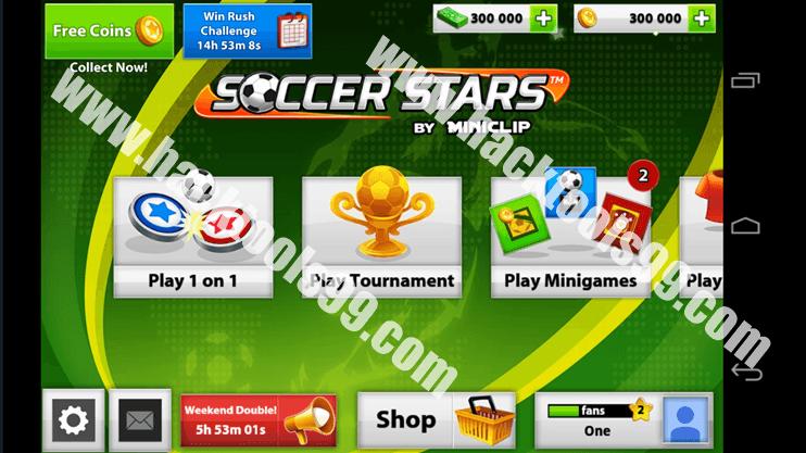Soccer Stars Hack Working Proof