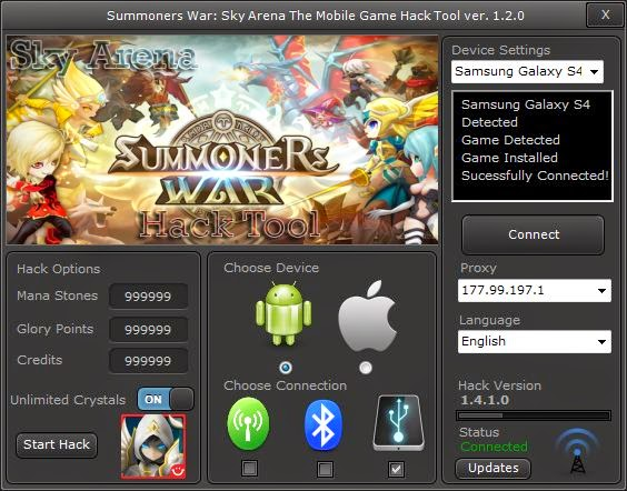 Summoners War Sky Arena Hack Summoners War Sky Arena Hack Add Mana, Crystals and Glory Points