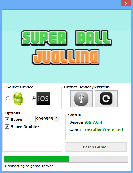 Super Ball Juggling Hack Tool