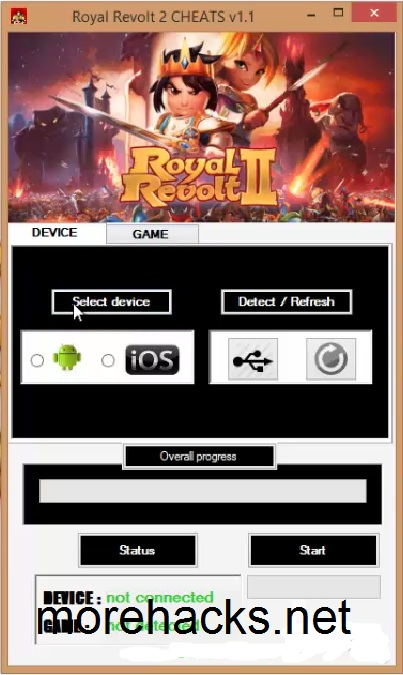 Royal Revolt 2 Hack Tool Cheats