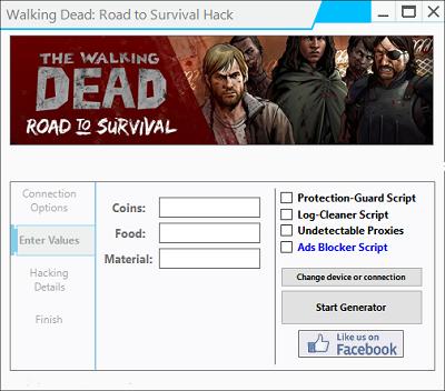 Walking Dead Road To Survival Cheats