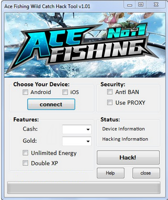 Ace Fishing Wild Catch Hack Unlimited Cash and Gold