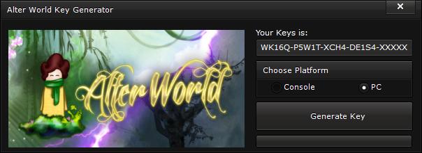 alter world key generator free activation code 2015 Alter World Key Generator – FREE Activation Code 2015