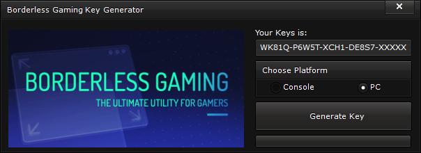 borderless gaming key generator free activation code 2015 Borderless Gaming Key Generator – FREE Activation Code 2015