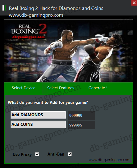 Real Boxing 2 Hack for Diamonds and Coins