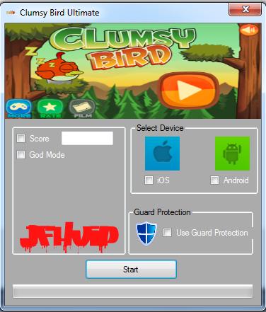 Clumsy Bird Hack Tool