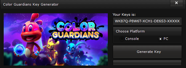 color guardians key generator free activation code 2015 Color Guardians Key Generator – FREE Activation Code 2015