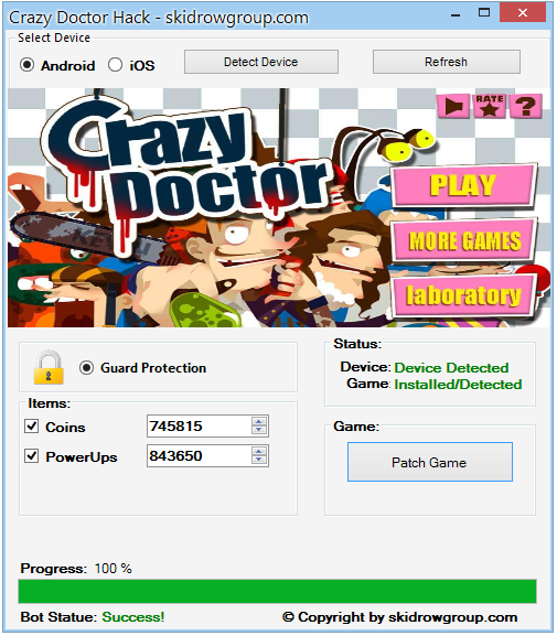Crazy Doctor Hack - Android iOS Cheats