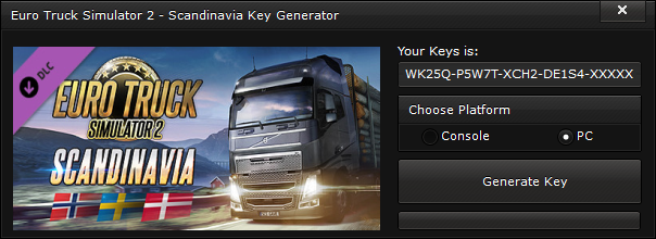 euro truck simulator 2 scandinavia key generator free activation code 2015 Euro Truck Simulator 2 – Scandinavia Key Generator – FREE Activation Code 2015