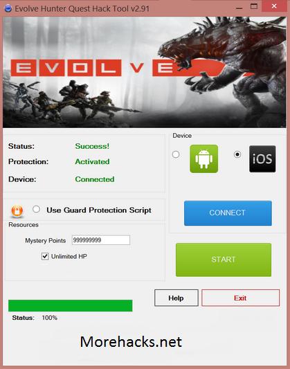 Evolve Hunters Quest Hack Tool