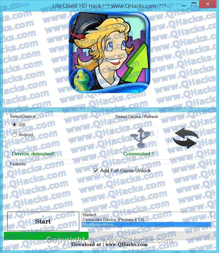 Life Quest HD hacks
