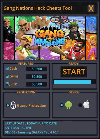 Gang Nations Hack Tool