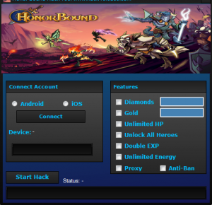 HonorBound Cheat Tool