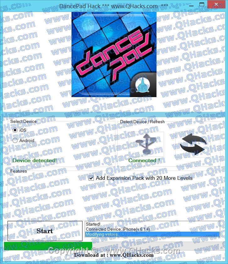 DancePad hacks