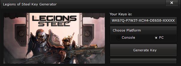 legions of steel key generator free activation code 2015 Legions of Steel Key Generator – FREE Activation Code 2015