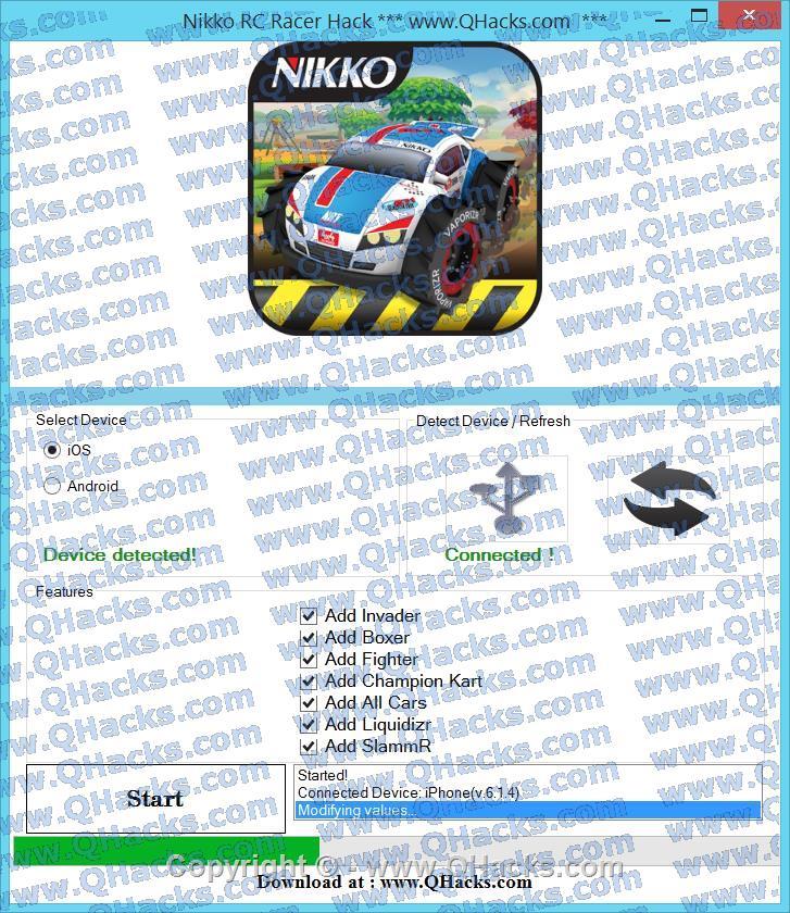 Nikko RC Racer hacks