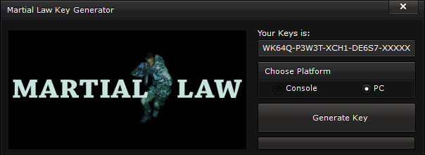 martial law key generator free activation code 2015 Martial Law Key Generator – FREE Activation Code 2015