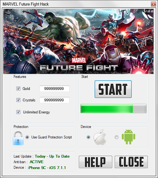 marvel future fight hack pluscheats MARVEL Future Fight Hack & Cheats for Android and IOS – Free Gold and Crystals