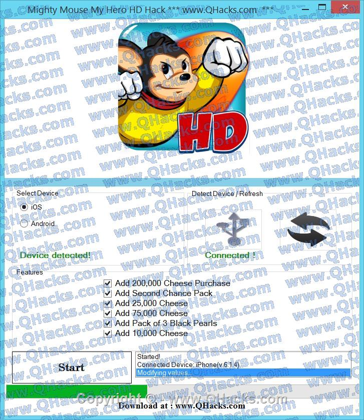 Mighty Mouse My Hero HD hacks