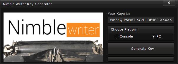 nimble writer key generator free activation code 2015 Nimble Writer Key Generator – FREE Activation Code 2015
