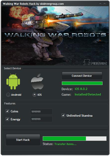 Walking War Robots Hack