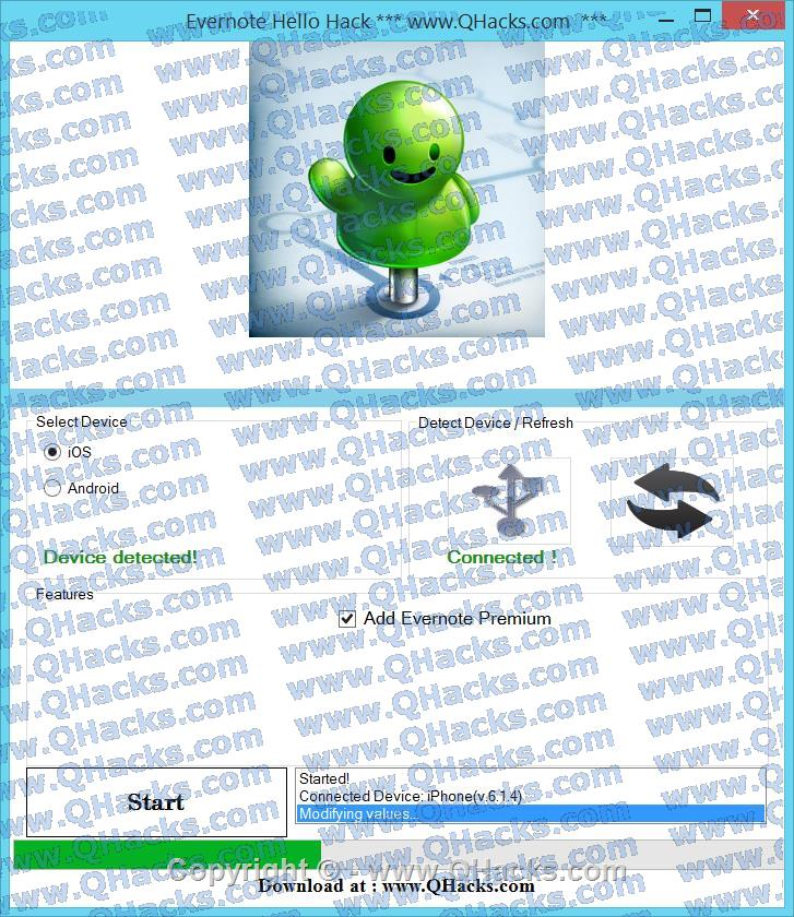 Evernote Hello hacks