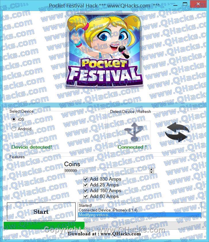 Pocket Festival hacks