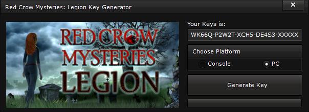 red crow mysteries legion key generator free activation code 2015 Red Crow Mysteries Legion Key Generator – FREE Activation Code 2015