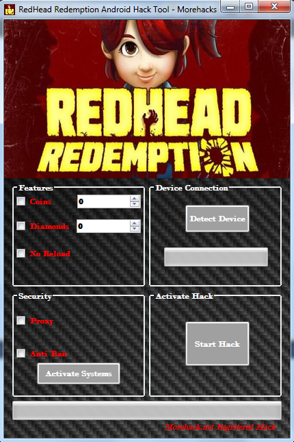 Redhead Redemption Android Hack Tool