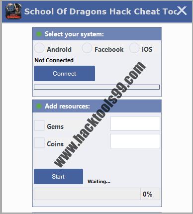 School of Dragons Hack Tool