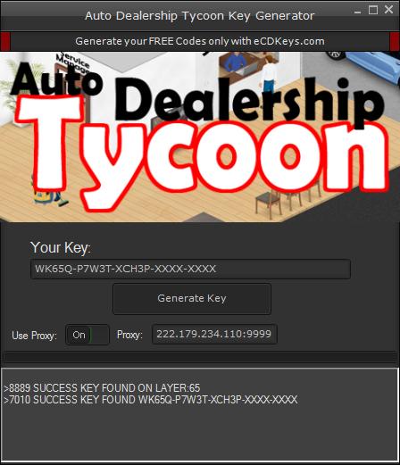 Auto Dealership Tycoon cd-key