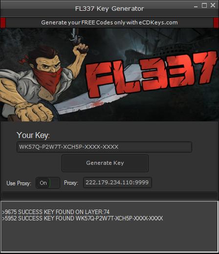 FL337 cd-key
