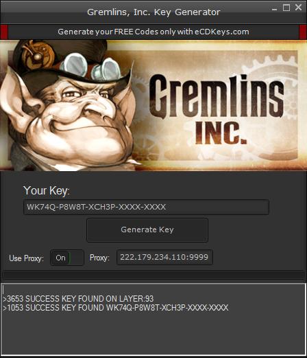 Gremlins, Inc. cd-key