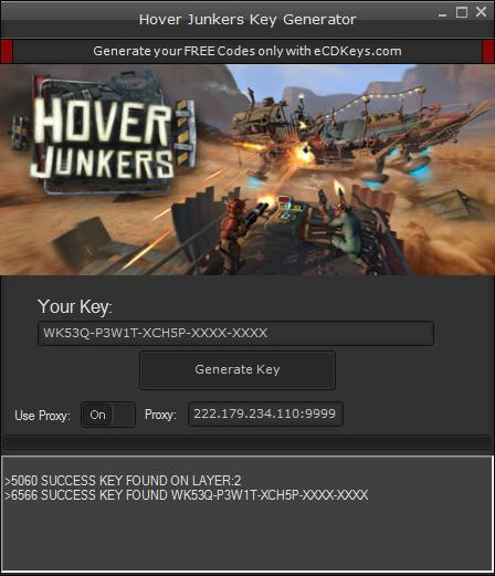 Hover Junkers cd-key