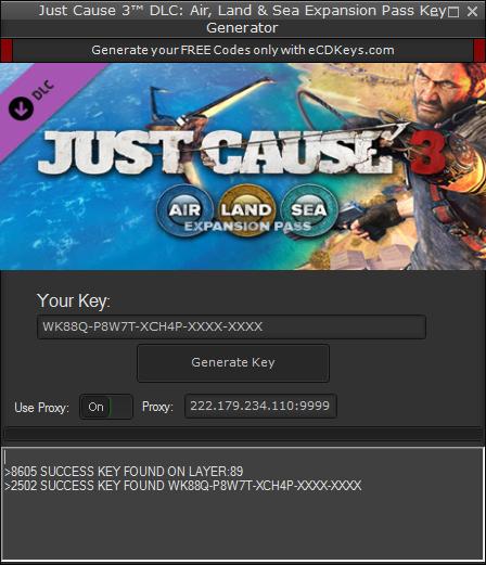 Just Cause 3™ DLC: Air, Land & Sea Expansion Pass cd-key