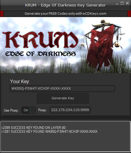 KRUM - Edge Of Darkness cd-key