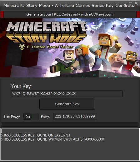 Minecraft: Story Mode - A Telltale Games Series cd-key