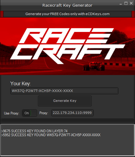 Racecraft cd-key