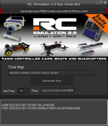 RC Simulation 2.0 cd-key