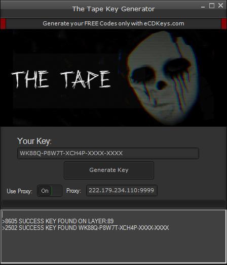 The Tape cd-key
