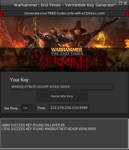 Warhammer: End Times - Vermintide cd-key