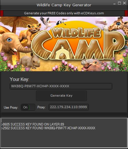 Wildlife Camp cd-key
